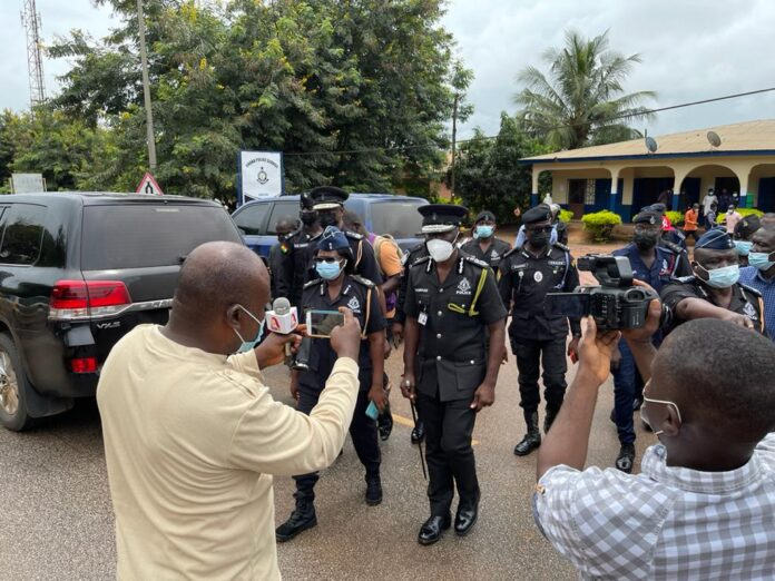 IGP storms Abesim over gruesome murder of three