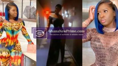 Princess Shyngle leaves her dross at home and steps out in skimpy dress [Video]