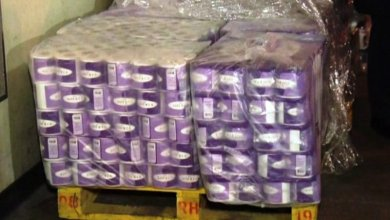 Photo of Chinese factory recycles textbooks meant for Ghanaian pupils into toilet rolls