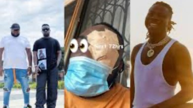 Photo of Stonebwoy Finally Speaks on on the incident with Sarkodie's Manager (+Video)