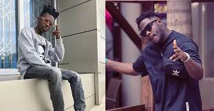 Photo of Video: Medikal 'punches' Strongman in a heated competition (Watch)