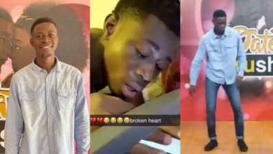 Photo of Knust Guy Who Was Heartbroken By His Girlfriend, Nana Ama, Spotted At Date Rush Auditions