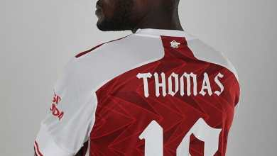 Photo of Video: Thomas Partey poses with Arsenal kit for the first time (Watch)