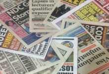 Photo of Newspaper Headlines: Friday, October 30, 2020