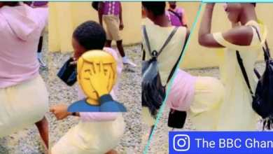 Photo of HOT Fork: FREE SHS girl praises boyfriend for using his SMALL d!.čk to shift her womb – WATCH