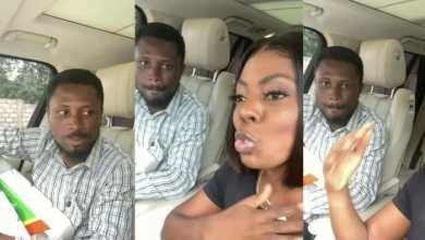 Photo of Video: Nana Aba Anamoah to help another street hawker who's a University graduate (Watch)