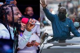 Photo of Video: This is why I will vote for President Akufo-Addo – Samini reveals (Watch)