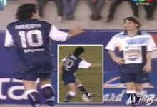Photo of Messi and Maradona were once teammates (Watch Video)
