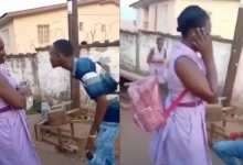 Photo of SHS guy proposes to his SHS girlfriend (Watch Video)