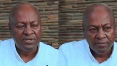Photo of Ghanaians in shock after video of John Mahama granting an interview in Pidgin with BBC went viral (Watch Video)
