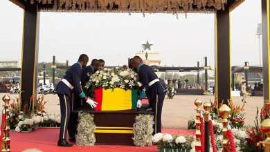 Photo of Photos from the ongoing State funeral for ex-president Rawlings