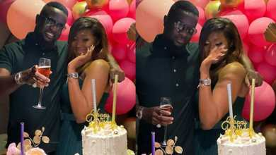 Photo of Sarkodie surprises female fan on her birthday (Watch Video)