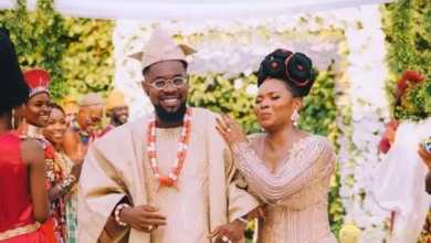 Photo of [Photos]: Patoranking And Yemi Alade Ties The Knot