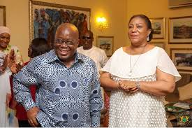Photo of Read the romantic message first lady, Mrs. Rebeeca Akufo-Addo sent to her husband on his birthday