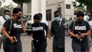 Photo of Nana Ama McBrown heads to the court for the second time