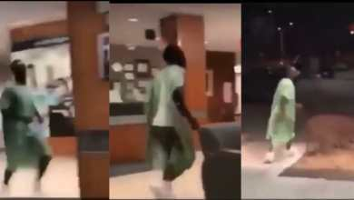 Photo of Man runs away from hospital bed after Doctor told him that his phone is with his wife