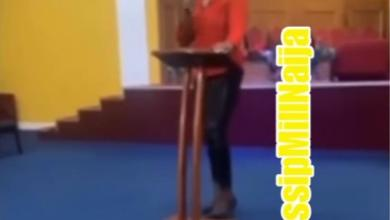 Photo of Osofo Maame curses church members for not contributing for her birthday party – Video