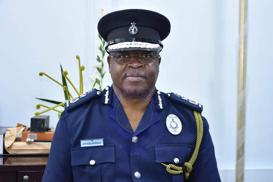 Inspector-General of Police (IGP) Mr. James Oppong-Boanuh