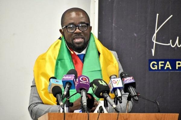 Ghana Football Association President, Kurt Okraku