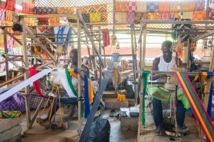 Bonwire Kente weaving
