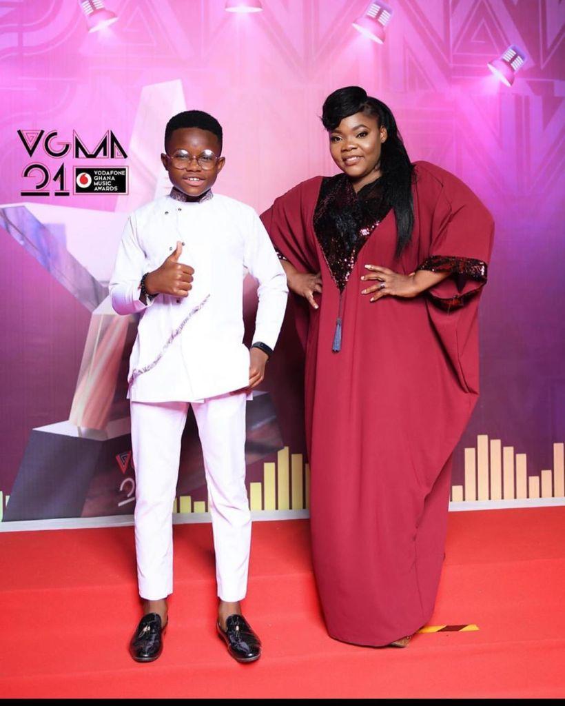 Celestine Donkor and Nhyiraba Gideon