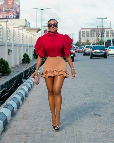Nigerian celebrity Ini Edo