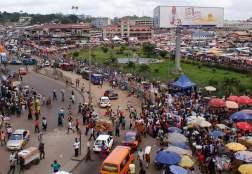 Kejetia Market - Largest open space market