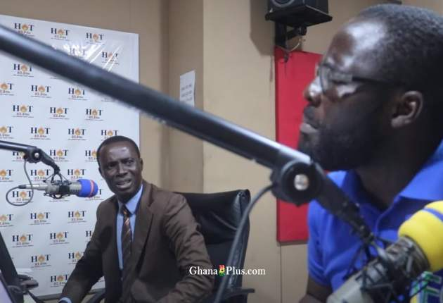 Nana Afrari Kwagyir Aggrey – NPP communicator and Tomtom – NDC Communicator on Hot FM