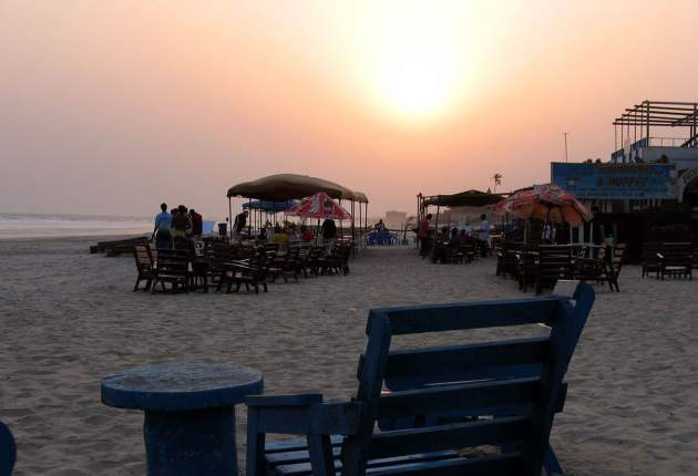 Sunset at Labadi beach. Image / theculturetrip.com