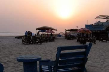 Sunset at Labadi beach - Visit Ghana