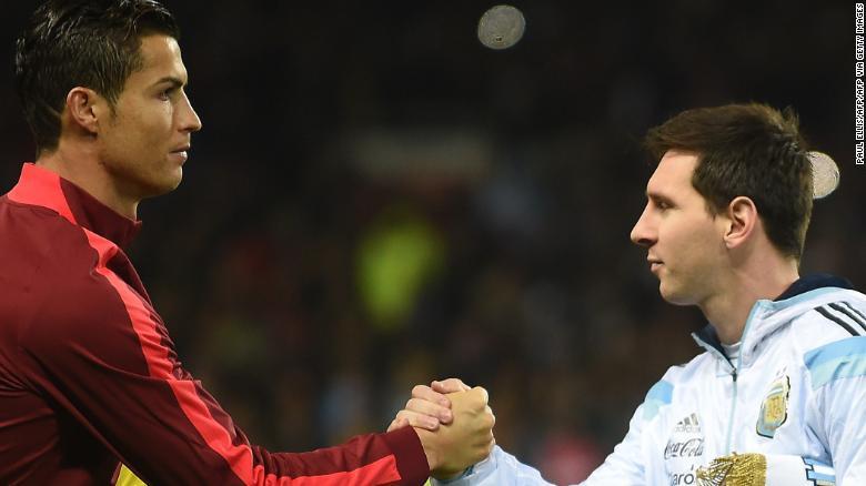 Lionel Messi edges out Cristiano Ronaldo