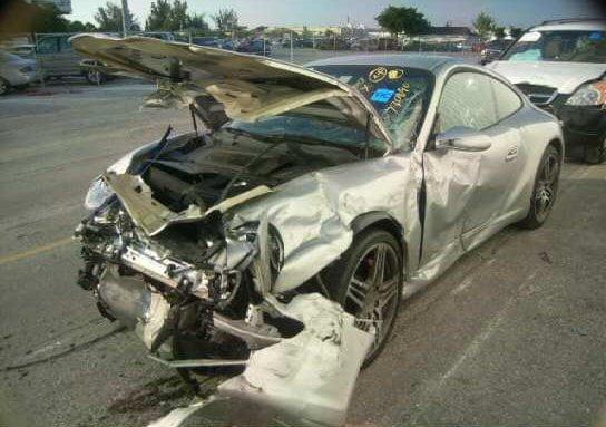 salvaged vehicles