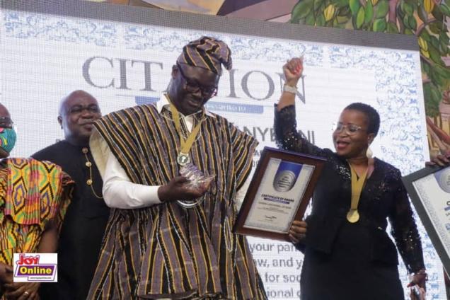 Samson Lardy Anyenini is 2019 GJA Journalist of the Year
