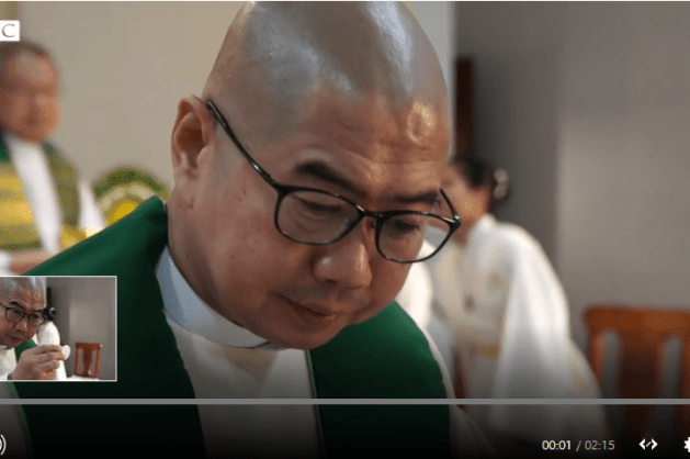 Catholic Priest charge with treason in Philippines