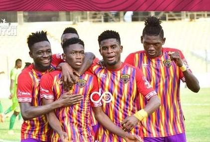 Hearts of Oak record biggest win of the season, beat Bechem United 6-1