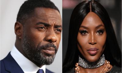 Idris Elba and Naomi Campbell