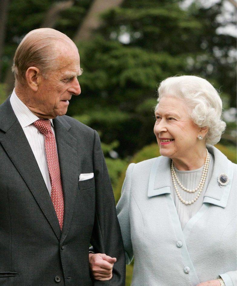 Queen and Philip