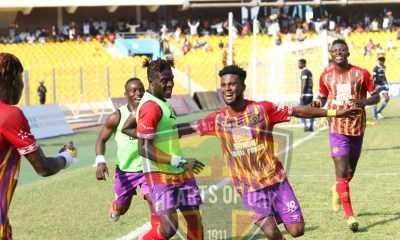 20/21 Ghana Premier League matchday 33: Hearts of Oak earn point from Liberty clash to win league title
