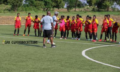 Black Princesses coach Ben Fokuo delighted with the progress of the team