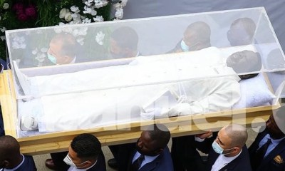 Cost of Prophet T. B Joshua's clear view casket revealed