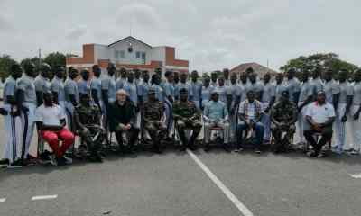 Ghana Armed Forces complete GFA License 'D' coaching course