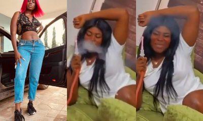 Video Of Yaa Jackson Seriously Smoking Like Bob Marley Causes Stir Online