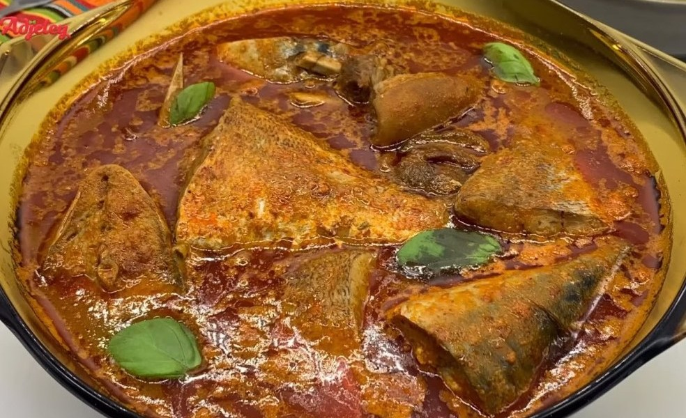 assorted fish and goat meat light soup recipe