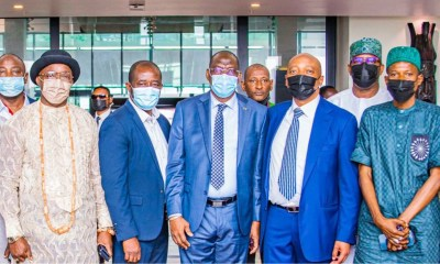CAF President arrives in Nigeria to grace Aisha Buhari tournament