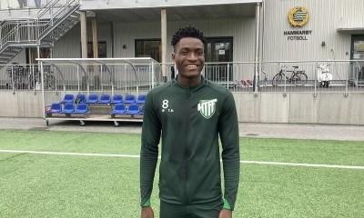 Ghana U23 defender Nathaniel Adjei signs for Swedish side Hammarby Talang FF