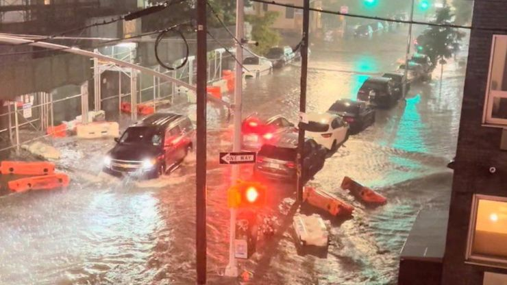 New York flood