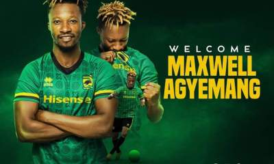 OFFICIAL : Asante Kotoko announce the signing of Mighty Royals defender Maxwell Agyemang