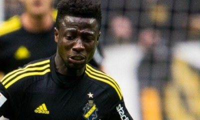 Swiss club AIK Stockholm prevented Ghana's Ebenezer Ofori from leaving in summer