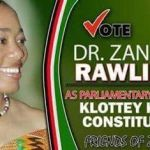 Zanetor Rawlings For Parliament ...See Poster