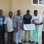 Gospel Musician Yaw Sarpong & Asomafo Donate Gh10,000, Other Items To Korle-Bu Teaching Hospital